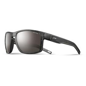 Julbo Shield Spectron 4 Sunglasses Translucent Black/Black-Brown Flash Silver